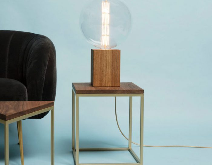 TWO-O Duke lamp Hout