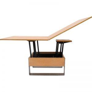 TWO-O Mondriaan verstelbare tafel