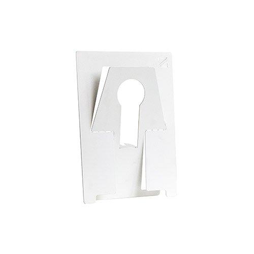 Stalen uitvouwbare tafellamp gemaakt van restmateriaal Plaatje Eva van merk Zooi