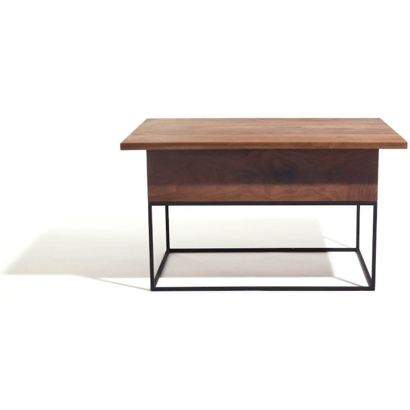 Industriele Vierkante Tafel.Two O Maverick Industriele Salontafel Studio Perspective