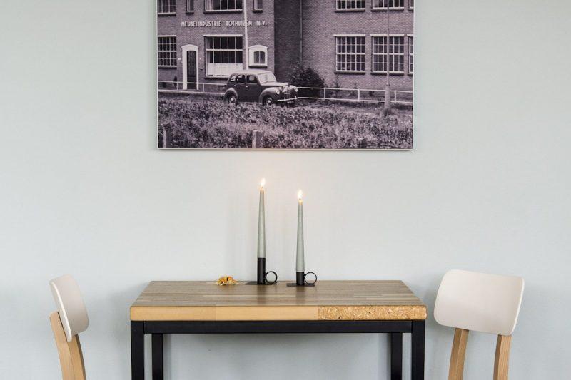 Kandelaar Wim XL Brons Zooi bij Studio Perspective
