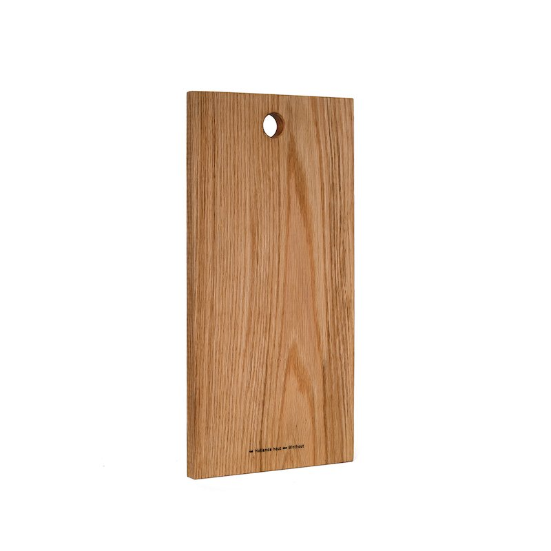 Origineel relatiegeschenk en duurzaam kerstpakket borrelplank van duurzaam hout met logo bij Studio Perspective.