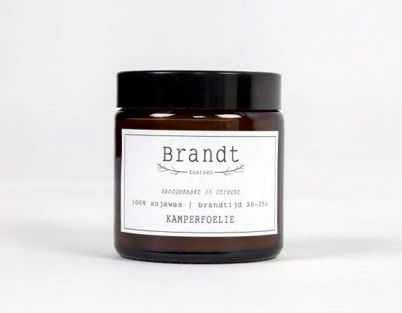 Brandt Kaarsen duurzame sojakaarsen Kamperfoelie