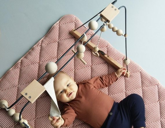 babygym van &Me duurzame baby gym