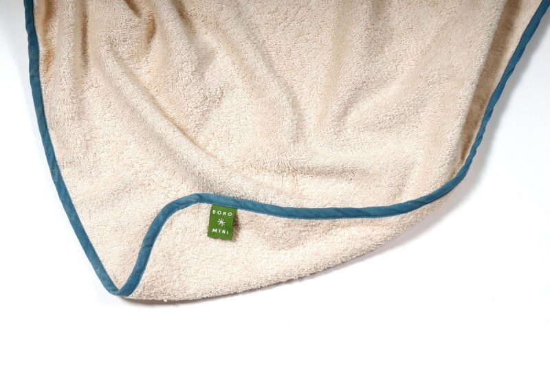 Boro*Mini Badcape Teal Green