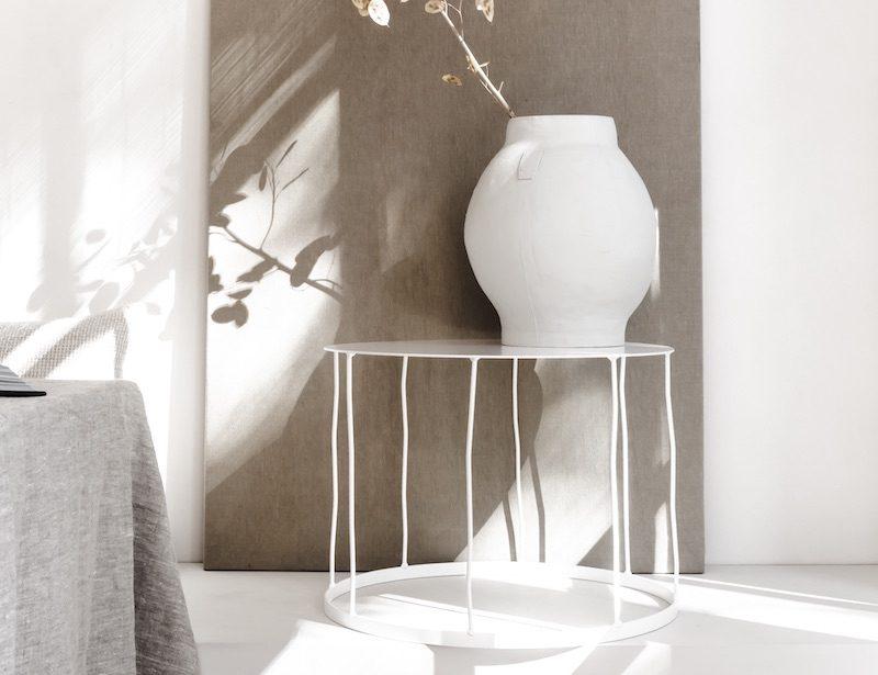 De Salontafel rond metaal bij Studio Perspective