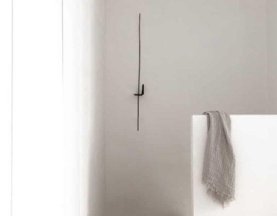 Kandelaar voor aan de muur duurzaam design bij Studio Perspective