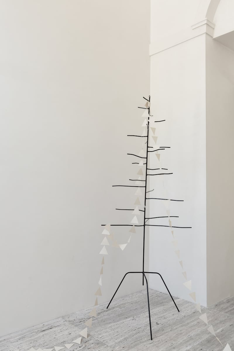Industriele kerstdecoratie K'willeminhuis bij Studio Perspective
