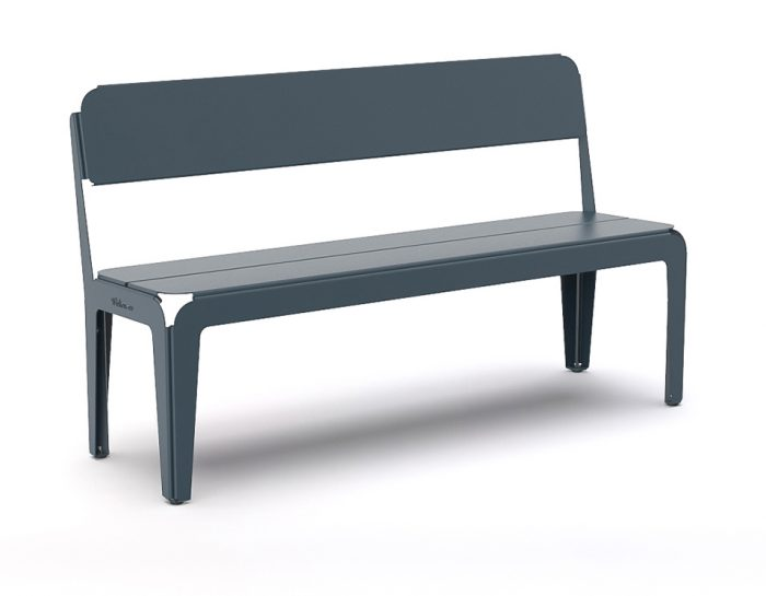 Weltevree Bendedbench-backrest-greyblue