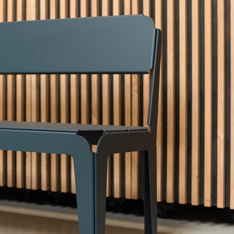 Weltevree Bendedbench-backrest-greyblue