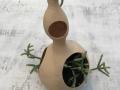 Duurzame plantenhanger Double skinny van gerecyclede materialen Studio Perspective