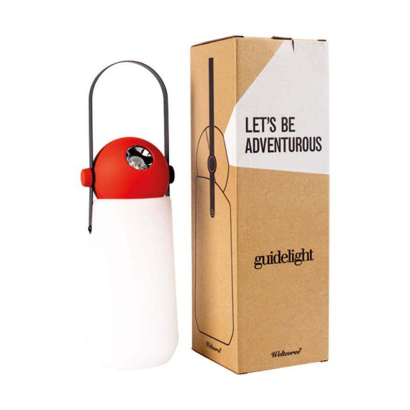 Guidelight weltevree campinglamp groen