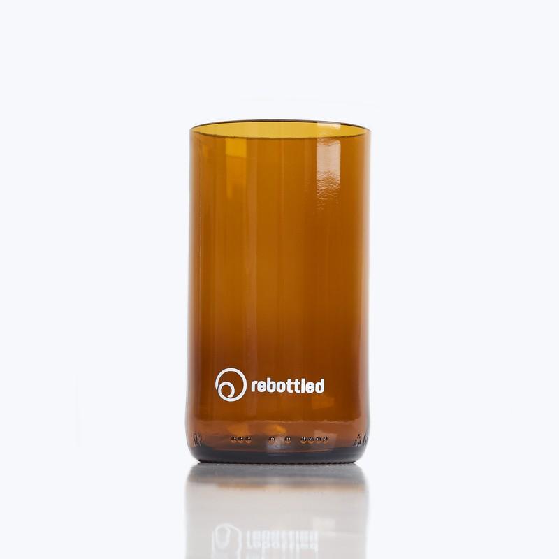 Rebottled drinkglas bruin cup 2-pack Studio Perspective