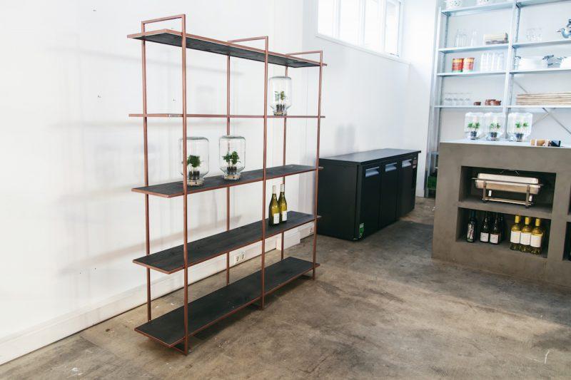 Design wandkast staand wit Studio Perspective