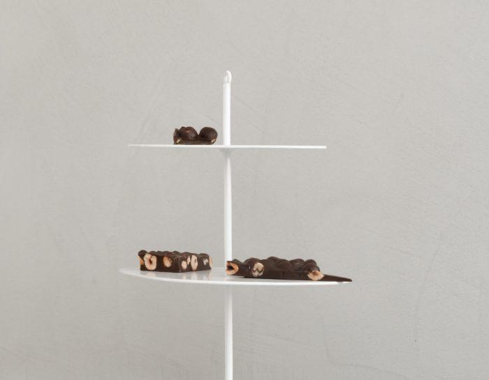 etagere K'willeminhuis metaal wit of zwart Studio Perspective