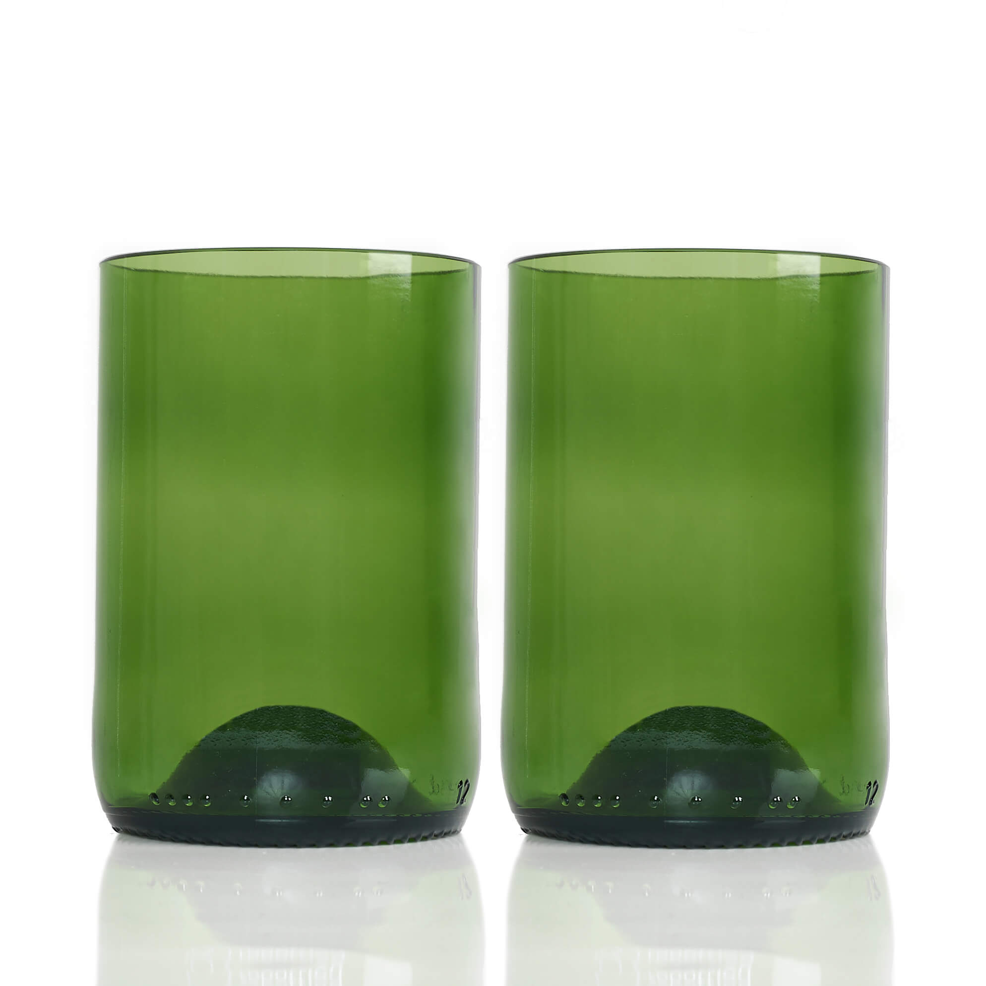 Rebottled Drinkglas 2-Pack Green