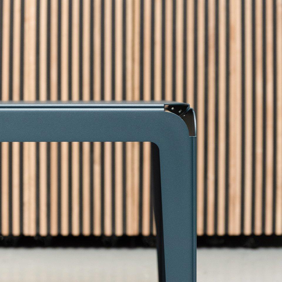 Weltevree Bended-serie-detialed-above-shot-bench-and-stool-grey-blue