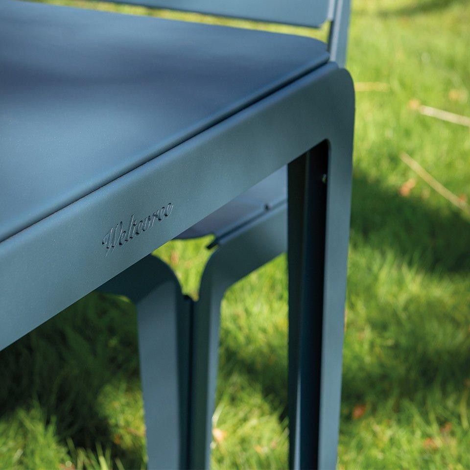 Weltevree bended balkontafel 90 cm groen
