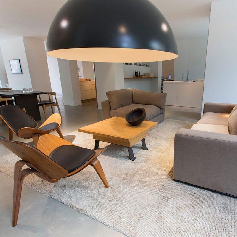 Verstelbare design tafel voor kleine kantoor en bedrijfsruimten