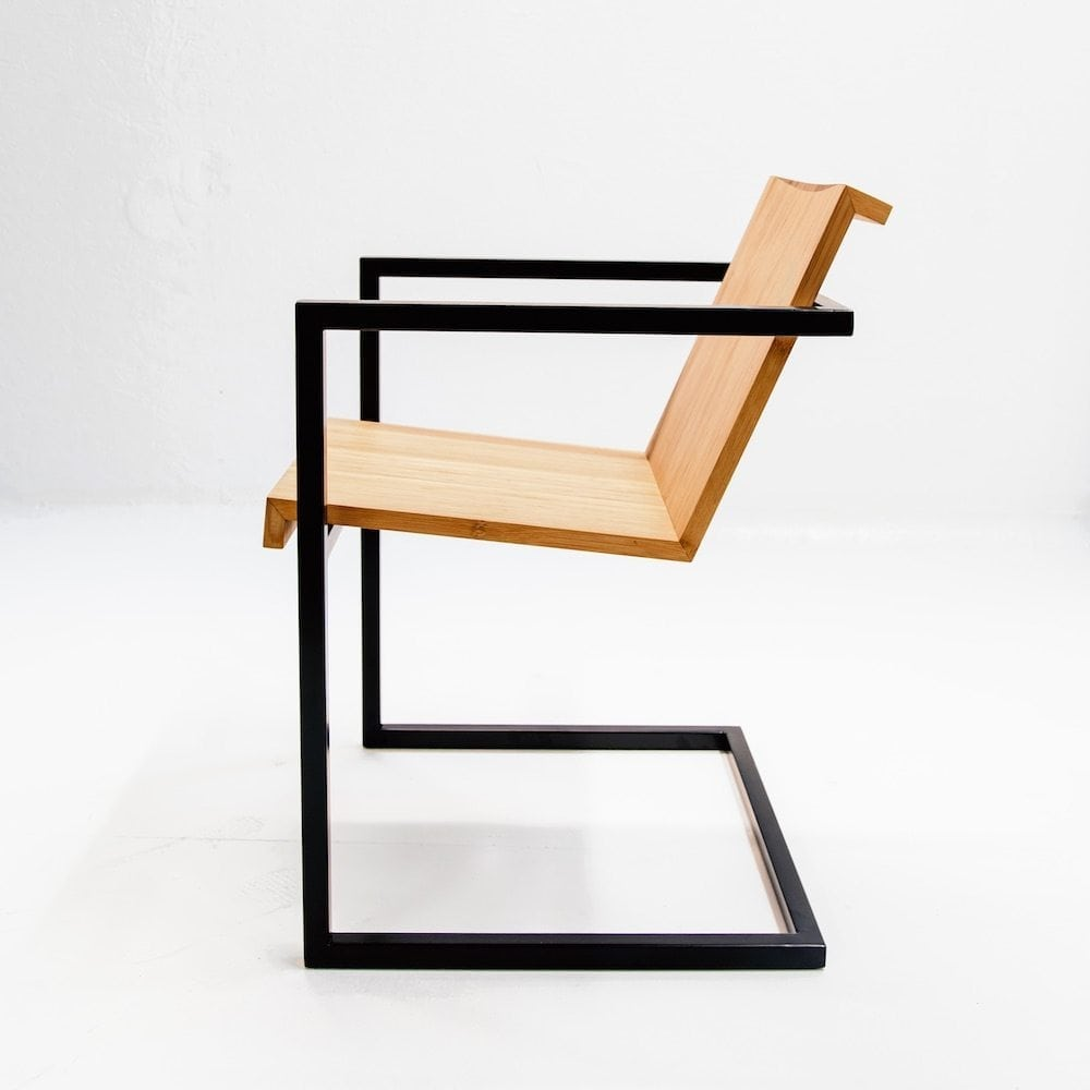 Duurzame designstoel Stoel Eroll uit de Mogelijkheid Collectie