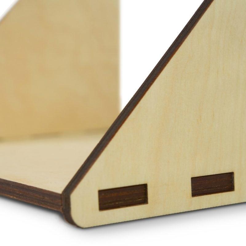 Fency wandrek lasergesneden plankje enkel van Tolhuijs Design