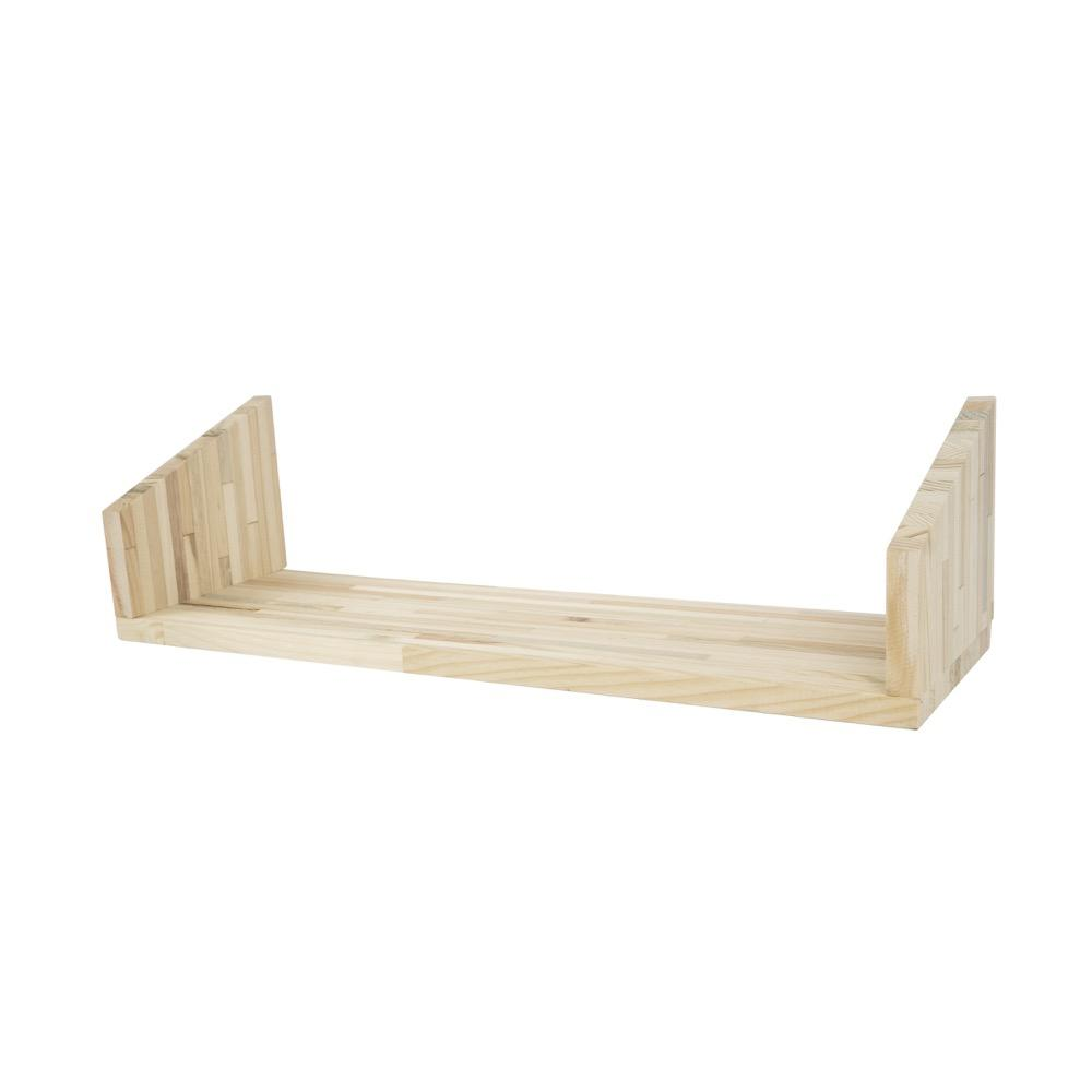 plankje hout triple voor duurzaam wandrek Fency Tolhuijs Design
