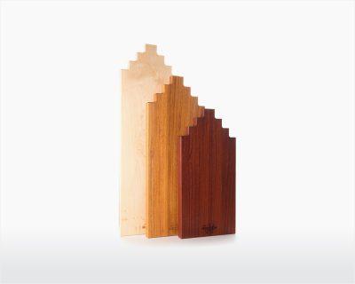 Snijplanken Amsterdams Grachtenpand Wooden Amsterdam met logo