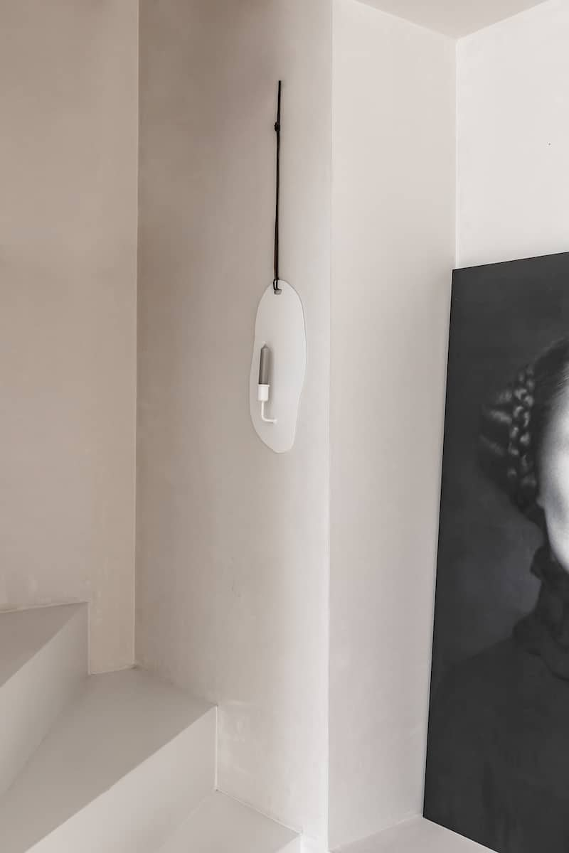 De wandkaars wit K'willeminhuis bij Studio Perspective