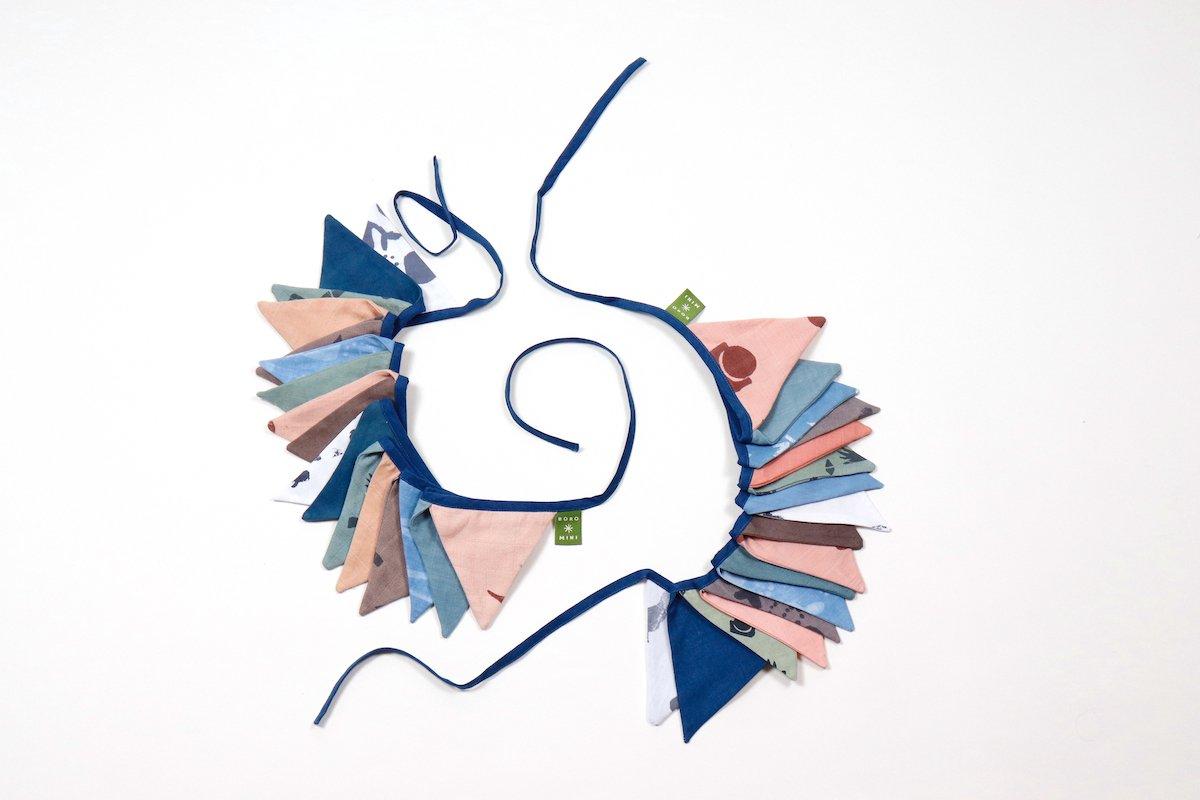 Decoratie slinger kinderkamer bij Studio Perspective