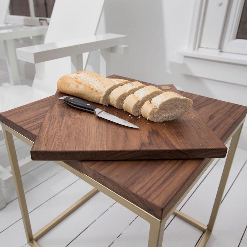 Duurzame hapjesplank hout