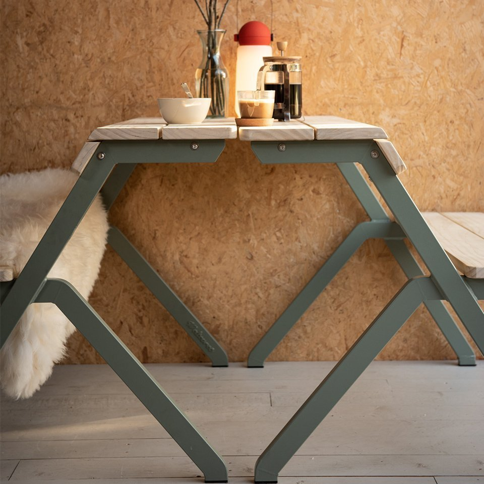 Weltevree-Tablebench-2-seater-Acooya-Wood-indoor-office