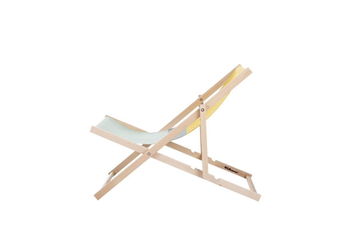beach chair, strandstoel, inklapbare tuinstoel. iconische strandstoel, stoffen strandstoel, ouderwetse strandstoel