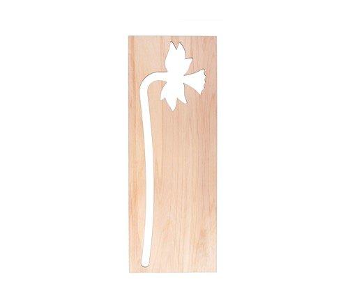 Houten bloemen als houten wanddecoratie bij Studio Perspective.