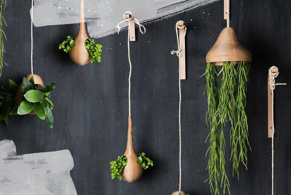 Plantenhanger calabash duurzaam design Studio Perspective
