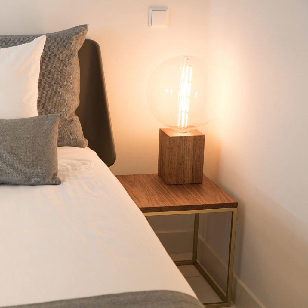 duurzame design salontafel van hout