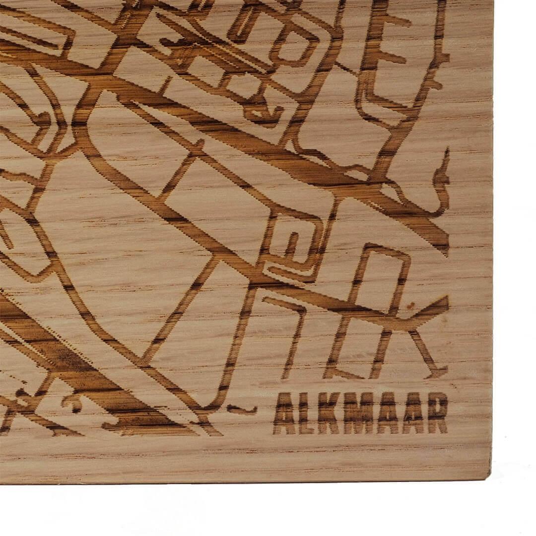 Kaasplank Alkmaar plattegrond duurzaam hout