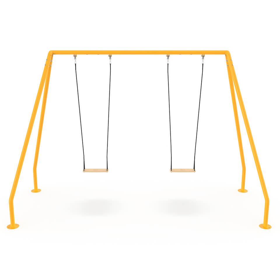 Schommel Serious Swing geel modern design