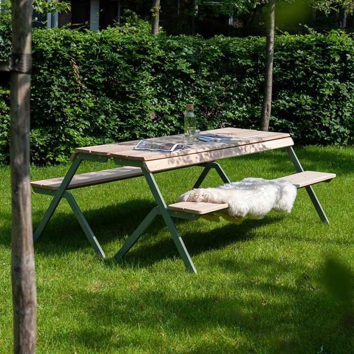Weltevree-Tablebench-4-Seater-Accoya-Wood-outdoor-breakfest