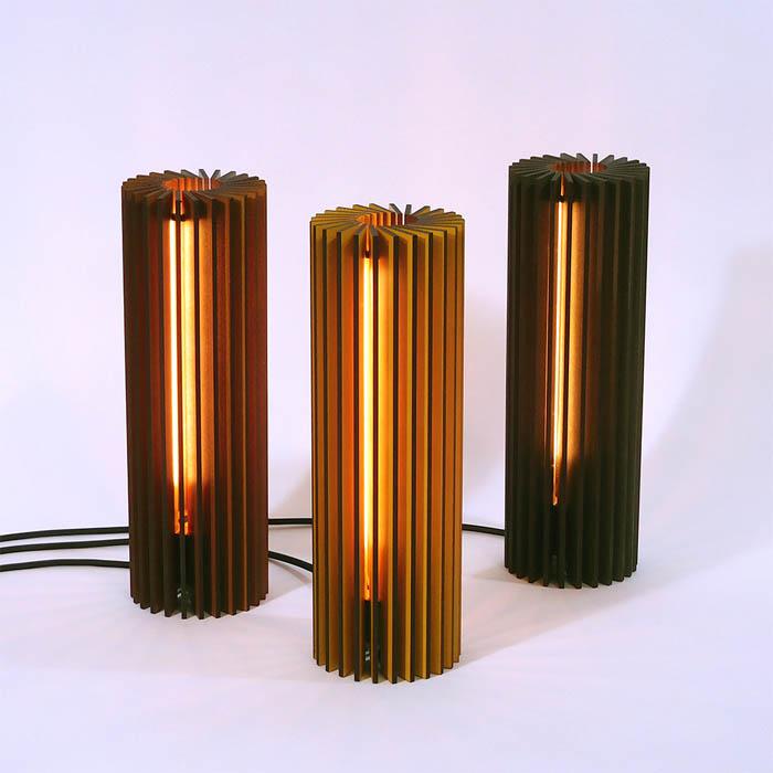 vanderwerffdesign houten lasergesneden design tafellamp