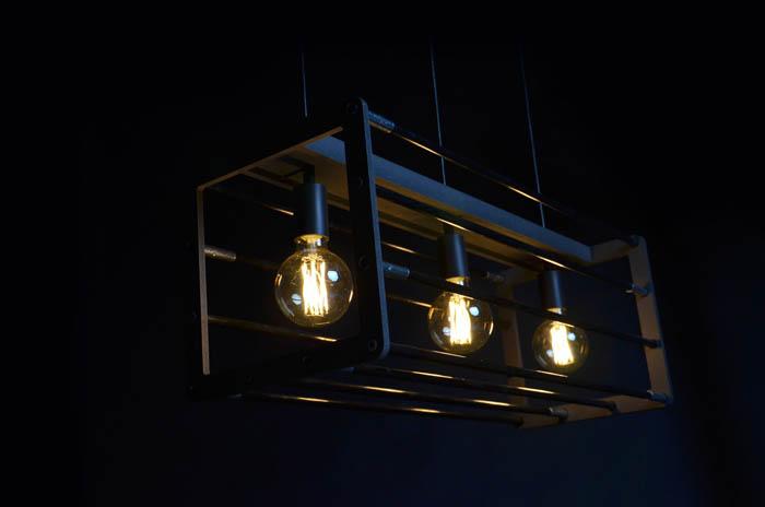 Frame hanglamp - zwarte achtergrond